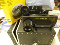 Kodak S-AV 1010 Cased with 60mm, 70-120mm Lenses, Infra Red Remote Set Cased -NICE- £129.99